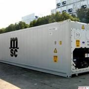 Контейнеры крупнотоннажные, Рефрижераторный контейнер фото