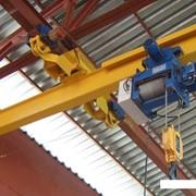 Кран мостовой подвесной однобалочный фото