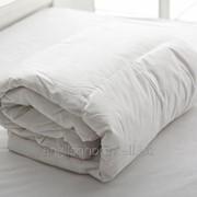 Стьогана ковдра з гусячим пухом Winter 155x215 білий фото