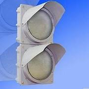 Noname Светофор индустриальный двухсекционный вертикальный 200 мм красный, зеленый арт. СцП23371 фото