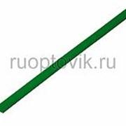 4. 0 / 2. 0 мм 1м термоусадка зеленая REXANT фото