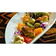Доставка холодных закусок - Маринованные грибочки с овощами (г) фото