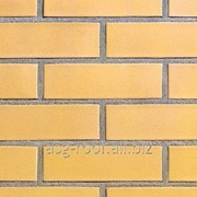 Клинкерный кирпич АВС 0354 Rheinland Creme-gelb фото