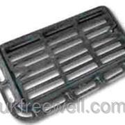 Решетка дождеприемника чугунная типа ДБ-2 38000153 фото