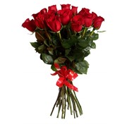 Букет 25 красных роз FREEDOM фото