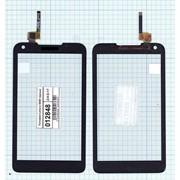 Сенсорное стекло (тачскрин) для Lenovo S880 черное, Диагональ 5 фото