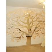 Роспись художественная стен и потолков фото