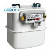 Счетчик газа мембранный Самгаз RS/2001-1 LA G-2,5 фото