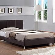 Кровать из экокожи Камила 90х200 фото