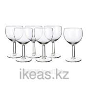 Бокал для вина, прозрачное стекло ФОРСИКТИГТ фото