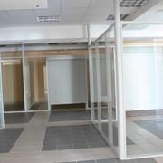 Перегородки офисные стеклянные фото