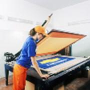 Печать трафаретная фото