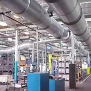 Монтаж автоматизированного управления газообеспечением фото