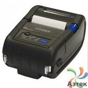 Принтер этикеток Citizen CMP20 термо 203 dpi, Bluetooth, USB, RS-232, аккумулятор, считыватель карт MSR, 1000823 фото