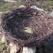 Корзина гнездо для аиста фото