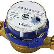 Одноструйный счетчик воды JS-1,5 Dn15 ХВ фото