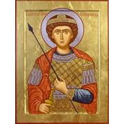 Икона Георгий Победоносец фото