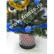 Декоративное кашпо для новогодней елки и цветов фото