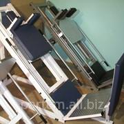 Тренажер спортивный два в одном: Жим ногами + Гак приседания Производство спортивных тренажеров. Для дома и спортивных залов. фото