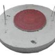 Круглая плита для перекрытий колодцев Ǿ 1,1 м КЦП-10 фото