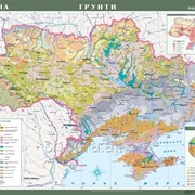 Україна. Грунти, м-б 1:1 000 000 фото