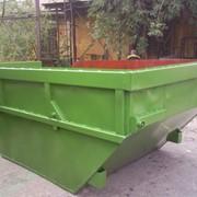 Бункер для сбора ТБО 8 куб.м (Толщина металла 3мм) фото
