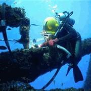 Подводно-технические работы. фото
