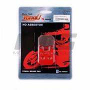 Колодки тормозные Диск Peugeot, Italjet, CPI Yongli красные фото