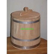 Кадка дубовая для солений от 10 до 200 литров фото