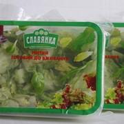 Салат Премиум. Чищенные вакуумированные овощи. Вакуумированные овощи свежие фото