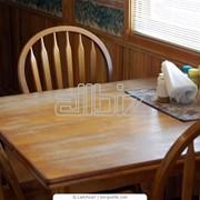 Столы из натурального дерева под заказ, ручная работа, Винница фото