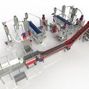 Оборудование для ПЭТ переработки, комплекс ПЭТ, пр фото