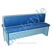 Скамейка двухсторонняя М-212 размер 130х57х56 фото