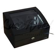 Шкатулка для 4 часов с автоподзаводом (хранение и подзавод) LW031-11-3 фото