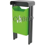 Урна уличная для сбора мусора объемом 30 литров, арт.12.34.54 фото