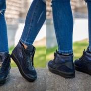 Женские модные ботинки, в расцветках, р.р 35-41 фото