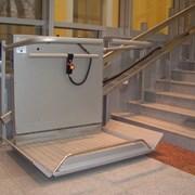Подъемная платформа БК 350 с наклонным перемещение фото