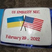 Изготовление корпоративных тортов на заказ по Украине фото