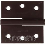 Петля дверная Stayer Master разъемная, цвет коричневый, правая, 75мм Код: 37613-75-3R фото