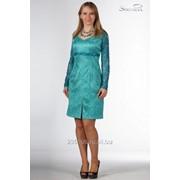 Платье 3718-1 Бирюза цвет фото