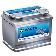 Аккумуляторная батарея VARTA Start-Stop+ 6СТ60 D52 обр. фото