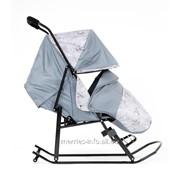 Санки-коляска Kristy Luxe Серый фото