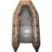Лодка надувная Колибри КМ-300 (камуфляж, цветная) без слани 4949 фото