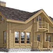 Деревянный дом под ключ фото