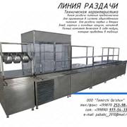 Линия раздачи питания. Оборудование для кухни ресторана в Ташкенте фото