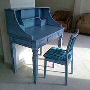 Мебель для школьников Алматы, Парта со стулом фото