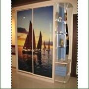 Шкаф-купе с фотопечатью (морская тематика) фото