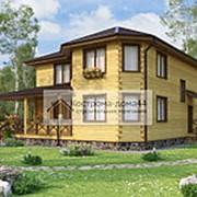 Проект Дом из бруса №27 11.7х11.7 фото