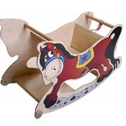 Лошадка (стульчик для кормления, качалка, парта) 3 в 1 фото