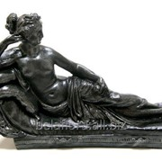 """Скульптура """"Дама на софе"""" Л040 фото"""